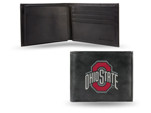 Ohio State Buckeyes Rico Industries Black Bifold Wallet