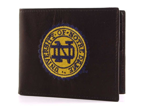 Notre Dame Fighting Irish Rico Industries Black Bifold Wallet
