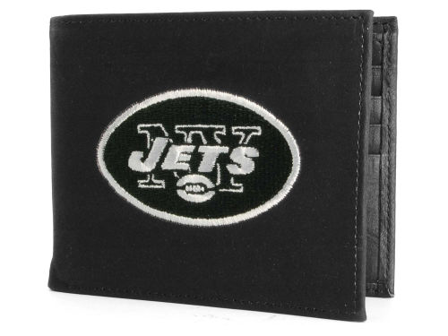 New York Jets Rico Industries Black Bifold Wallet