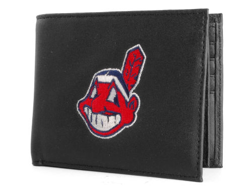 Cleveland Indians Rico Industries Black Bifold Wallet