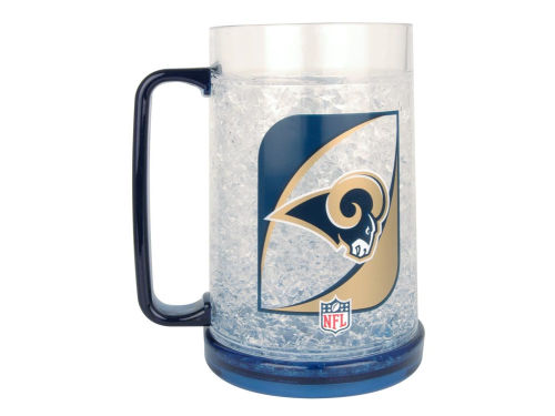 St. Louis Rams Crystal Freezer Mug