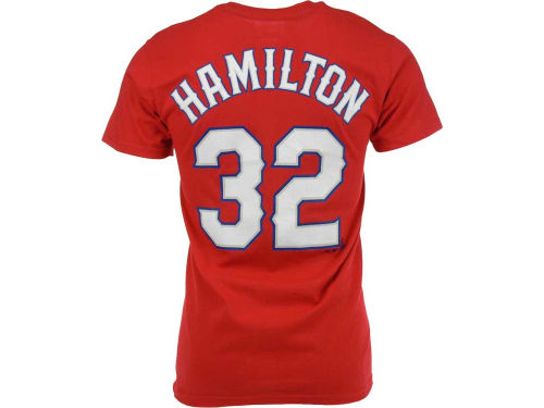 Texas Rangers Josh Hamilton Majestic MLB Player T-Shirt