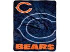 Chicago Bears The Northwest Company 50x60in Plush Throw Roll Out Bed & Bath