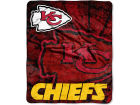 Kansas City Chiefs 50x60in Plush Throw Blanket Bed & Bath