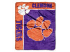 Clemson Tigers The Northwest Company 50x60in Plush Throw Blanket Bed & Bath