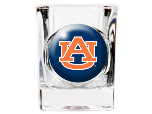 Auburn Tigers 35mm Square Shotglass