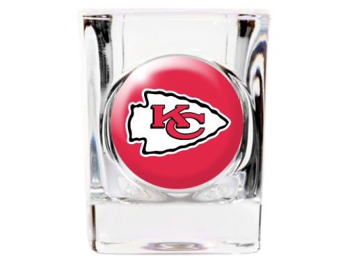 Kansas City Chiefs Great American Products 35mm Square Shotglass