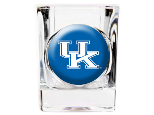 Kentucky Wildcats 35mm Square Shotglass