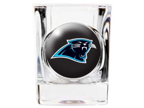 Carolina Panthers 35mm Square Shotglass