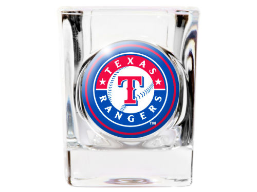 Texas Rangers 35mm Square Shotglass