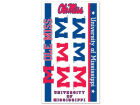 Mississippi Rebels Wincraft Temporary Tattoos Gameday & Tailgate
