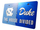 North Carolina Tar Heels House Divided Laser Tag Auto Accessories