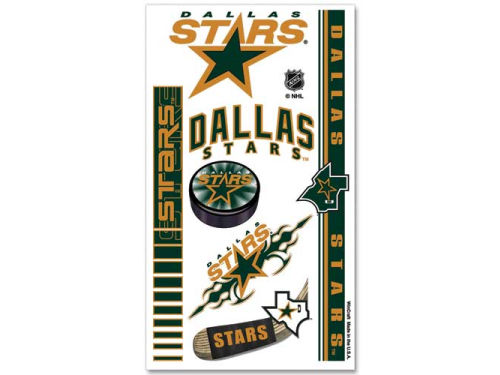 Dallas Stars Wincraft Temporary Tattoos