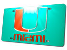 Miami Hurricanes Laser Tag Auto Accessories