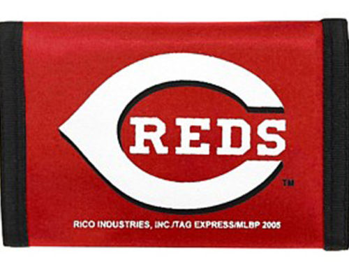 Cincinnati Reds Rico Industries Nylon Wallet