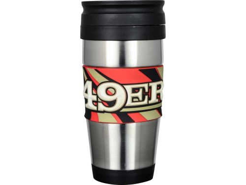 San Francisco 49ers Hunter Manufacturing Stainless Steel Travel Tumbler