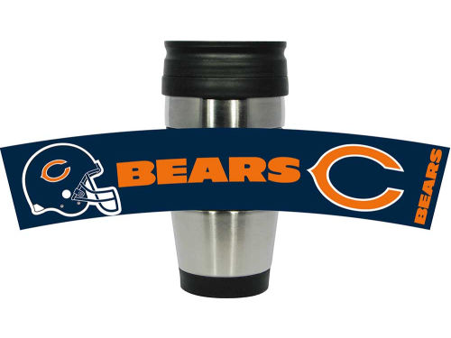 Chicago Bears Hunter Manufacturing Stainless Steel Travel Tumbler