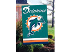 Miami Dolphins Applique House Flag Collectibles