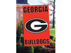 Georgia Bulldogs Applique House Flag Collectibles