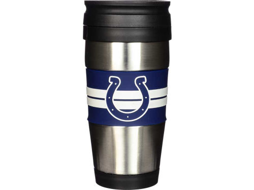Indianapolis Colts Hunter Manufacturing Stainless Steel Travel Tumbler