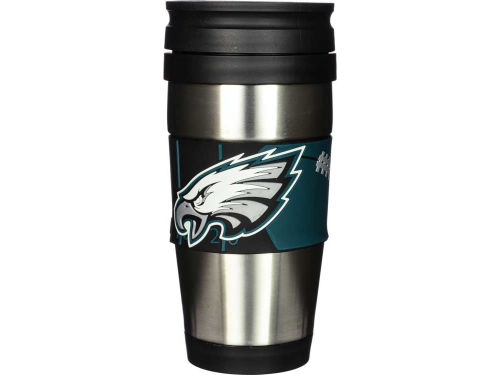 Philadelphia Eagles Stainless Steel Travel Tumbler