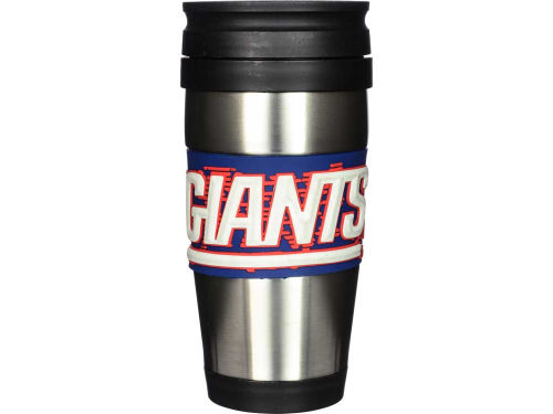 New York Giants Hunter Manufacturing Stainless Steel Travel Tumbler