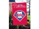 Philadelphia Phillies Applique House Flag Collectibles