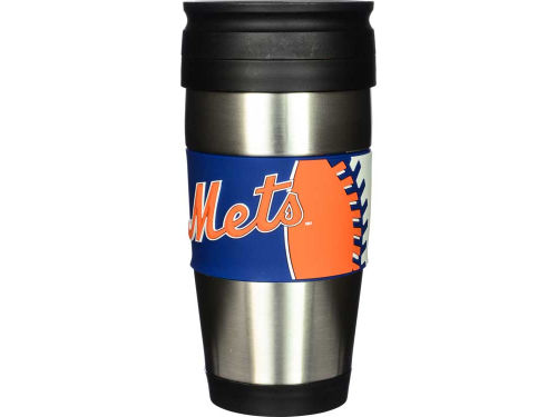 New York Mets Hunter Manufacturing Stainless Steel Travel Tumbler