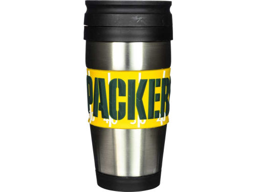 Green Bay Packers Hunter Manufacturing Stainless Steel Travel Tumbler
