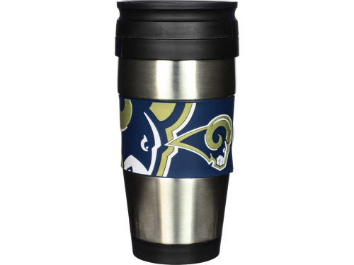 St. Louis Rams Stainless Steel Travel Tumbler