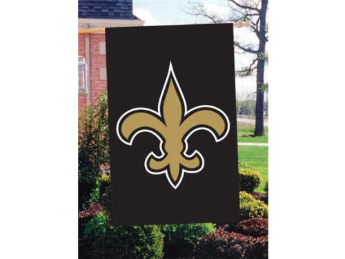 New Orleans Saints Applique House Flag
