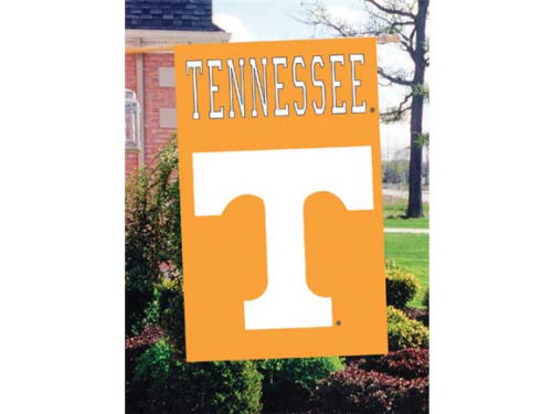 Tennessee Volunteers Applique House Flag