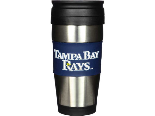 Tampa Bay Rays Hunter Manufacturing Stainless Steel Travel Tumbler