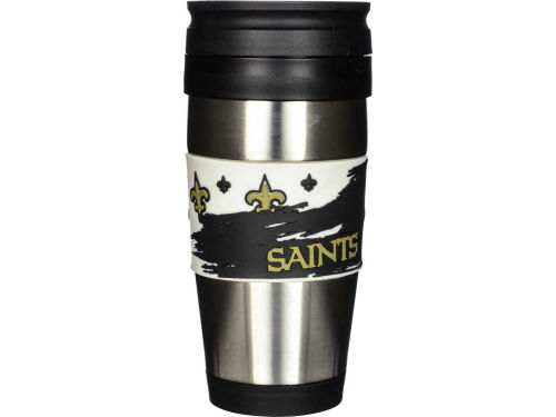 New Orleans Saints Hunter Manufacturing Stainless Steel Travel Tumbler