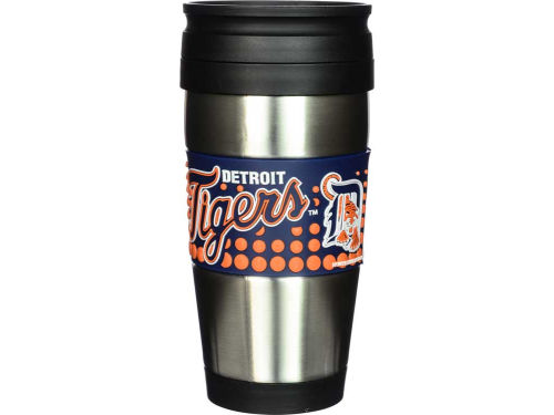 Detroit Tigers Stainless Steel Travel Tumbler