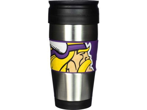 Minnesota Vikings Stainless Steel Travel Tumbler