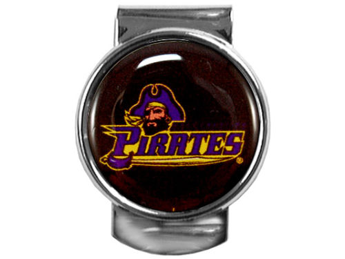 East Carolina Pirates Great American Products 35mm Money Clip