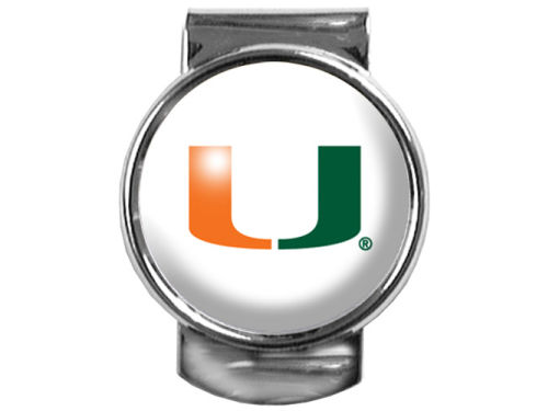 Miami Hurricanes 35mm Money Clip
