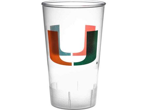 Miami Hurricanes Single Plastic Tumbler