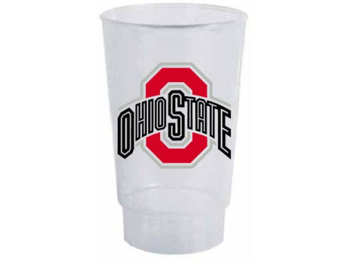 Ohio State Buckeyes Single Plastic Tumbler