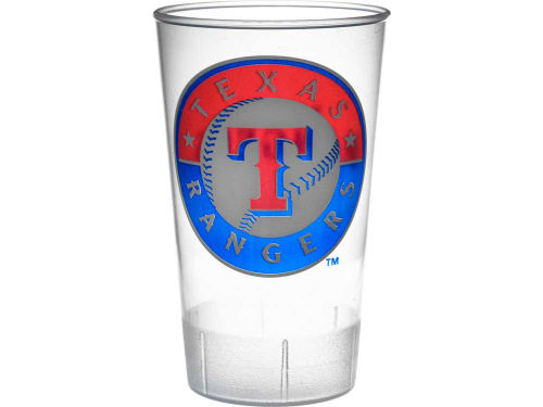 Texas Rangers Hunter Manufacturing Single Plastic Tumbler