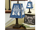 New York Yankees Art Glass Table Lamp Bed & Bath