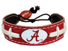 Alabama Crimson Tide Team Color Football Bracelet Jewelry