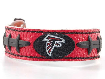 Atlanta Falcons Game Wear Football Bracelet Team Color images, details and specs