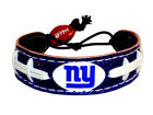 New York Giants Team Color Football Bracelet Jewelry