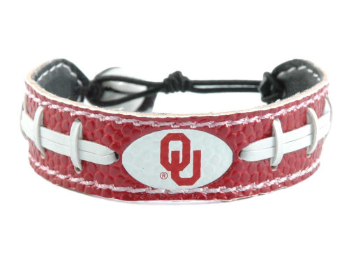 Oklahoma Sooners Game Wear Team Color Football Bracelet