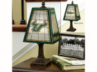 South Florida Bulls Art Glass Table Lamp Bed & Bath