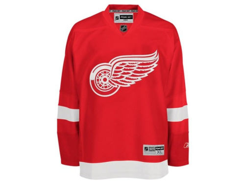 Detroit Red Wings Reebok Canada NHL CN Premier Jersey