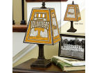 Tennessee Volunteers Art Glass Table Lamp Bed & Bath