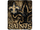 New Orleans Saints 50x60in Plush Throw Blanket Bed & Bath